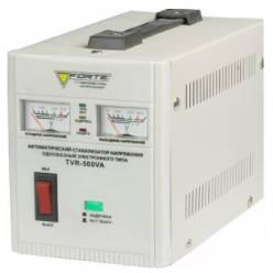 Стабилизатор напряжения однофазный FORTE TVR-500VA